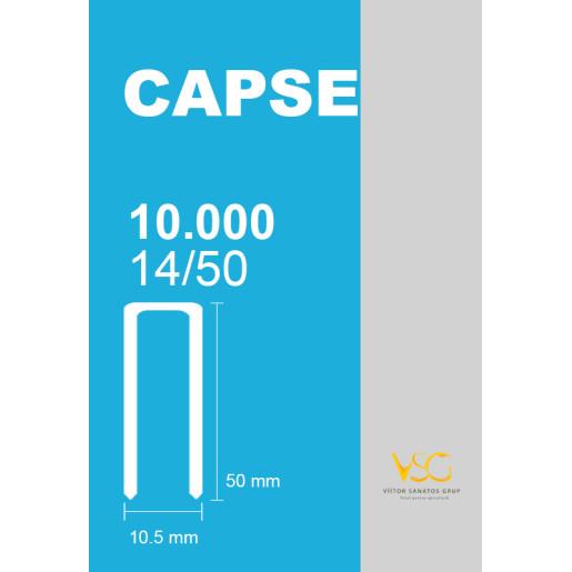 Capse tip U 14/50 pentru capsator pneumatic 2