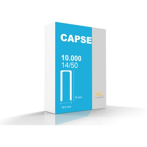 Capse tip U 14/50 pentru capsator pneumatic 1
