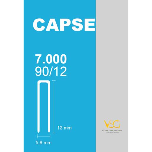 Capse prinse in benzi tip U 90/12 (7000 buc/cutie)