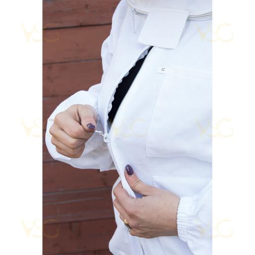 Bluza apicola cu fermoar