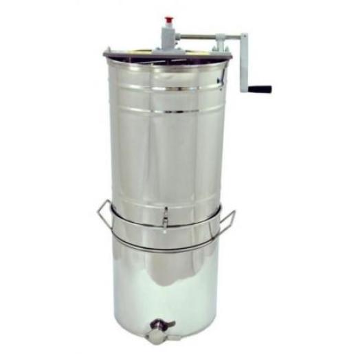 Centrifuga tangentiala 2 rame 1/1 diametru 40 cm manuala cu filtru si decantor OPTIMA