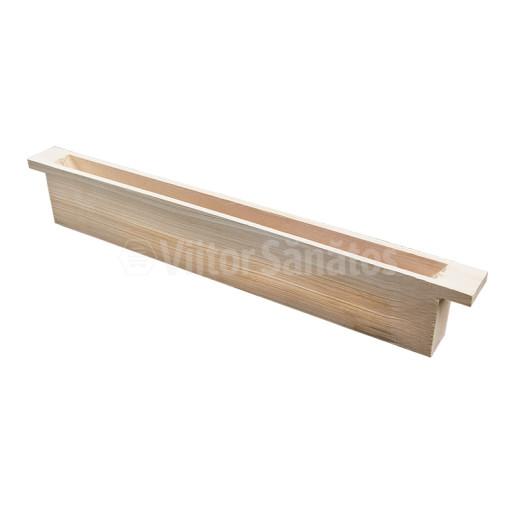 Hranitor uluc din lemn 500 ml (100 buc)