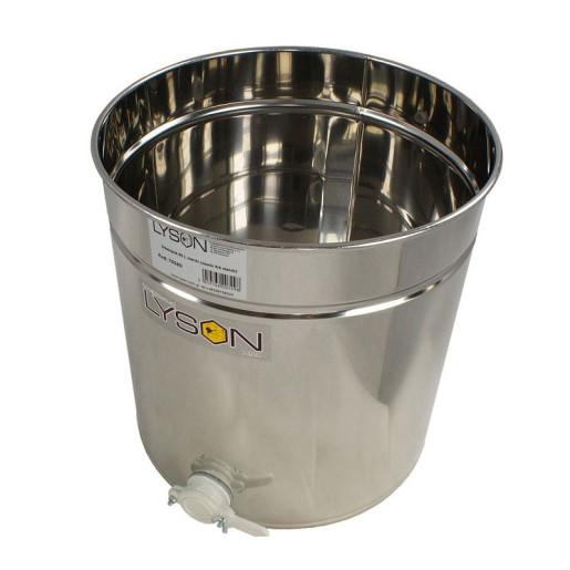 Maturator inox 70 L cu canea plastic Lyson - deschis