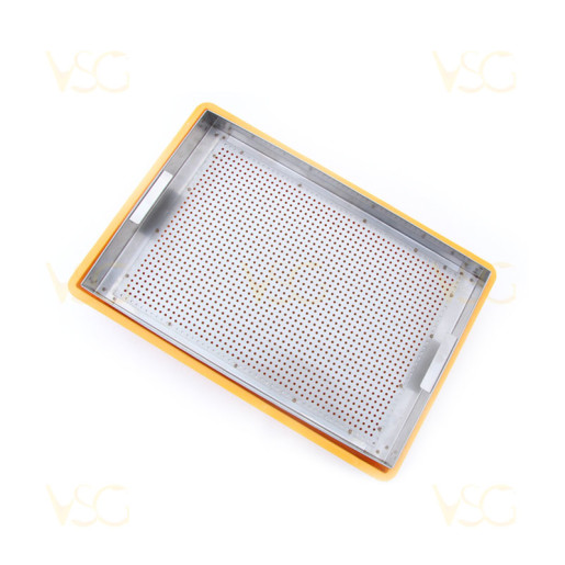 Tava descapacit 10 cm plastic cu filtru inox si suport rame 4