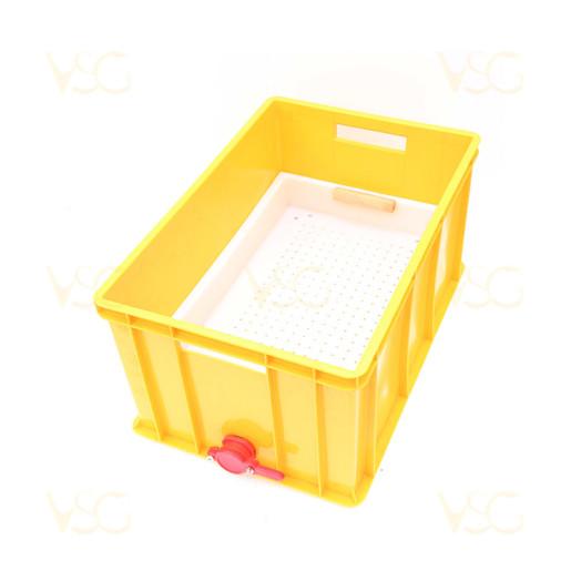 Tava descapacit 30 cm plastic cu filtru imbunatatit plastic, canea si suport rame 4