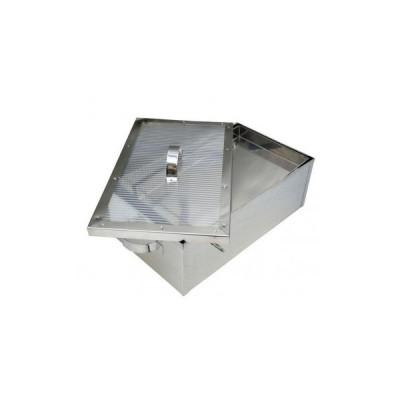 Topitor solar pentru ceara din inox mic