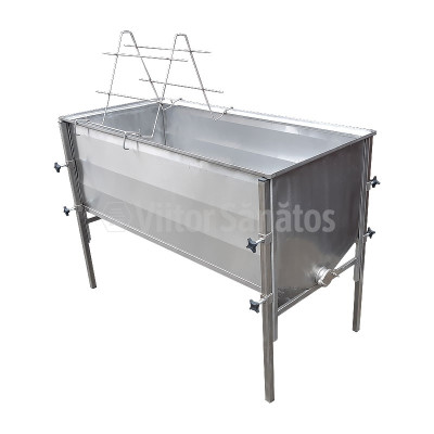 Banc descapacit 150 cm Total Inox