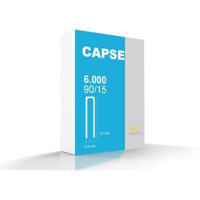 Capse tip U 90/15 pentru capsator pneumatic - cutie