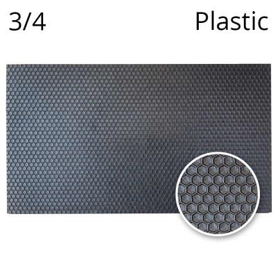 Faguri plastic cu celule de trantori