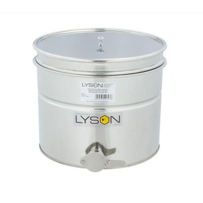 Maturator inox 30 L Lyson cu cu canea inox, manere si sita strecurator