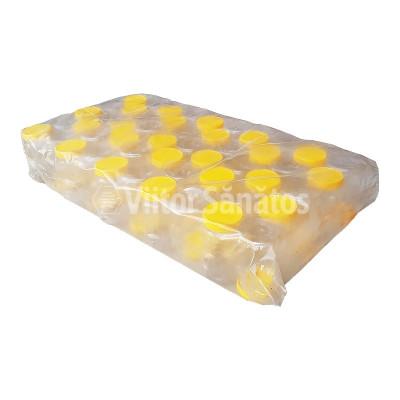 Set Borcane miere 0.25 kg ursulet din plastic