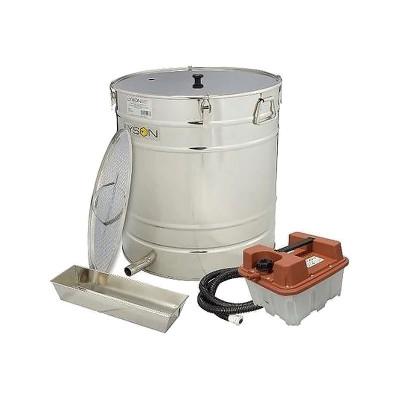 Topitor de ceara cu generator de aburi 200L