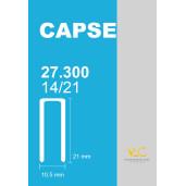 Capse tip U 14/21 pentru capsator pneumatic, 27300 buc/cutie