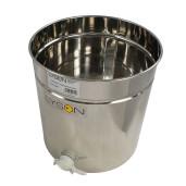 Maturator inox 50 L cu canea plastic Lyson - deschis