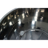 Maturator inox 50 L cu canea plastic Lyson - interior