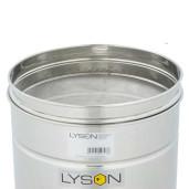 Maturator inox 70 L Lyson cu cu canea inox, manere si sita strecurator